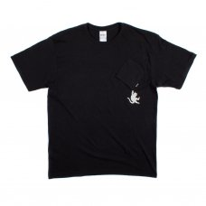 HANG IN THERE NERMAL POCKET TEE (BLACK)