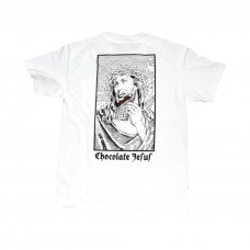 <img class='new_mark_img1' src='//img.shop-pro.jp/img/new/icons47.gif' style='border:none;display:inline;margin:0px;padding:0px;width:auto;' />CHOCOLATE JESUS TEE - WHITE
