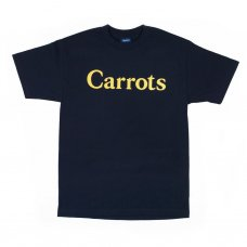 CARROTS CHAMOMILE WORDMARK T-SHIRT - NAVY BLUE
