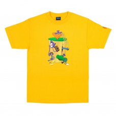 <img class='new_mark_img1' src='//img.shop-pro.jp/img/new/icons5.gif' style='border:none;display:inline;margin:0px;padding:0px;width:auto;' />CARROT MACHINE T-SHIRT - GOLD