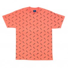 <img class='new_mark_img1' src='//img.shop-pro.jp/img/new/icons5.gif' style='border:none;display:inline;margin:0px;padding:0px;width:auto;' />ALL OVER CARROT T-SHIRT - CORAL