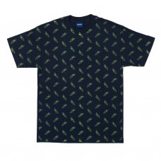 <img class='new_mark_img1' src='//img.shop-pro.jp/img/new/icons47.gif' style='border:none;display:inline;margin:0px;padding:0px;width:auto;' />ALL OVER CARROT T-SHIRT - NAVY