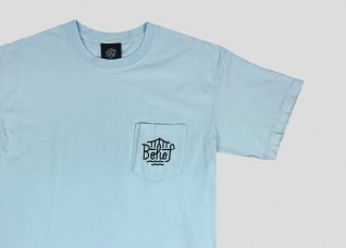 TRIBORO POCKET TEE - CHAMBRAY