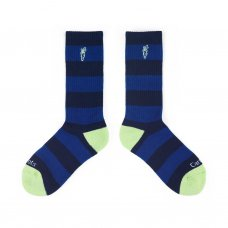 STRIPED SOCKS - NAVY
