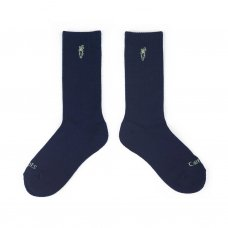 LOGO SOCKS - NAVY