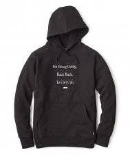 BACK TO CALI PULLOVER HOODY - BLACK