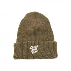 <img class='new_mark_img1' src='//img.shop-pro.jp/img/new/icons5.gif' style='border:none;display:inline;margin:0px;padding:0px;width:auto;' />CHOCOLATE JESUS COFFEE BEANIE - KHAKI
