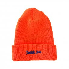 <img class='new_mark_img1' src='//img.shop-pro.jp/img/new/icons5.gif' style='border:none;display:inline;margin:0px;padding:0px;width:auto;' />CHOCOLATE JESUS LOGO BEANIE - ORANGE