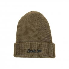 <img class='new_mark_img1' src='//img.shop-pro.jp/img/new/icons5.gif' style='border:none;display:inline;margin:0px;padding:0px;width:auto;' />CHOCOLATE JESUS LOGO BEANIE - KHAKI