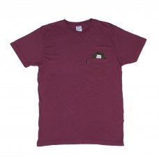 <img class='new_mark_img1' src='//img.shop-pro.jp/img/new/icons5.gif' style='border:none;display:inline;margin:0px;padding:0px;width:auto;' />CAT NIP POCKET TEE (BURGUNDY)