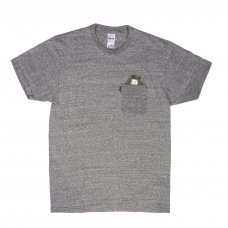 <img class='new_mark_img1' src='//img.shop-pro.jp/img/new/icons5.gif' style='border:none;display:inline;margin:0px;padding:0px;width:auto;' />CAT NIP POCKET TEE (HEATHER GRAY)