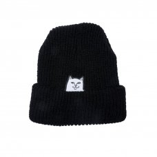 <img class='new_mark_img1' src='//img.shop-pro.jp/img/new/icons5.gif' style='border:none;display:inline;margin:0px;padding:0px;width:auto;' />LORD NERMAL RIBBED BEANIE (BLACK)