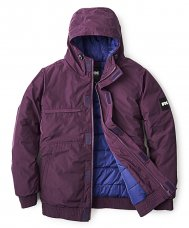 <img class='new_mark_img1' src='//img.shop-pro.jp/img/new/icons5.gif' style='border:none;display:inline;margin:0px;padding:0px;width:auto;' />HOODED PUFFY JACKET - PURPLE