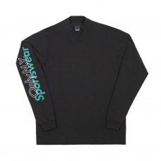 SPORTSWEAR L/S MOCK TURTLENECK