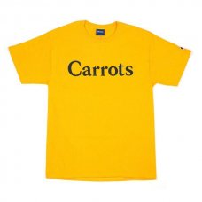<img class='new_mark_img1' src='//img.shop-pro.jp/img/new/icons5.gif' style='border:none;display:inline;margin:0px;padding:0px;width:auto;' />CARROTS CHAMOMILE - WORDMARK T-SHIRT - GOLD