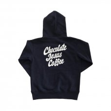 <img class='new_mark_img1' src='//img.shop-pro.jp/img/new/icons56.gif' style='border:none;display:inline;margin:0px;padding:0px;width:auto;' />CHOCOLATE JESUS COFFEE LOGO HOODIE - NAVY
