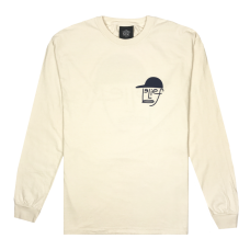 TYPEFACE L/S TEE - IVORY