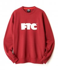 FTC OG LOGO CREW NECK SWEAT - BURGUNDY