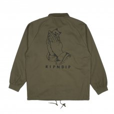 <img class='new_mark_img1' src='//img.shop-pro.jp/img/new/icons56.gif' style='border:none;display:inline;margin:0px;padding:0px;width:auto;' />PRAYING HANDS TWILL JACKET (OLIVE)