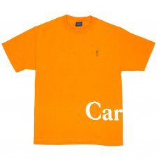 <img class='new_mark_img1' src='//img.shop-pro.jp/img/new/icons56.gif' style='border:none;display:inline;margin:0px;padding:0px;width:auto;' />CARROT LOGO WORDMARK T-SHIRT - ORANGE