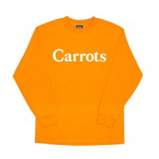 CARROTS WORDMARK LONGSLEEVE T-SHIRT - ORANGE
