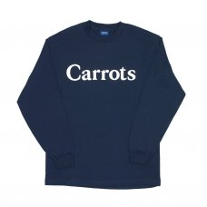 CARROTS WORDMARK LONGSLEEVE T-SHIRT - NAVY
