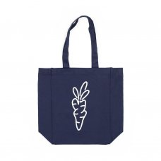 <img class='new_mark_img1' src='//img.shop-pro.jp/img/new/icons5.gif' style='border:none;display:inline;margin:0px;padding:0px;width:auto;' />CARROT LOGO TOTE BAG - NAVY