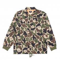 <img class='new_mark_img1' src='//img.shop-pro.jp/img/new/icons5.gif' style='border:none;display:inline;margin:0px;padding:0px;width:auto;' />NERMAL CAMO COTTON COACH JACKET (ARMY CAMO)