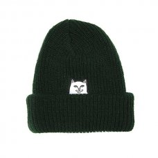 <img class='new_mark_img1' src='//img.shop-pro.jp/img/new/icons5.gif' style='border:none;display:inline;margin:0px;padding:0px;width:auto;' />LORD NERMAL RIBBED BEANIE (FOREST)