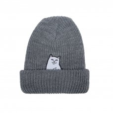 <img class='new_mark_img1' src='//img.shop-pro.jp/img/new/icons5.gif' style='border:none;display:inline;margin:0px;padding:0px;width:auto;' />LORD NERMAL RIBBED BEANIE (CHARCOAL)