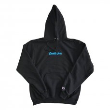 <img class='new_mark_img1' src='//img.shop-pro.jp/img/new/icons5.gif' style='border:none;display:inline;margin:0px;padding:0px;width:auto;' />CHOCOLATEJESUS LOGO HOODIE - BLACK