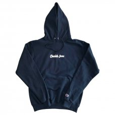 <img class='new_mark_img1' src='//img.shop-pro.jp/img/new/icons5.gif' style='border:none;display:inline;margin:0px;padding:0px;width:auto;' />CHOCOLATEJESUS LOGO HOODIE - NAVY