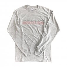 CHOCOLATEJESUS STANDARDS L/S - GREY
