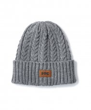 CABLE BEANIE - CHARCOAL