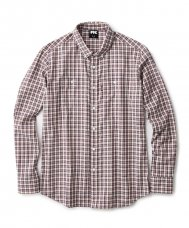 <img class='new_mark_img1' src='//img.shop-pro.jp/img/new/icons5.gif' style='border:none;display:inline;margin:0px;padding:0px;width:auto;' />TWILL PLAID B.D SHIRT - WHITE