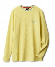 STRIPE RIB THERMAL - YELLOW