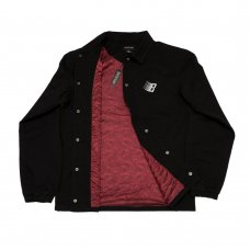 <img class='new_mark_img1' src='//img.shop-pro.jp/img/new/icons5.gif' style='border:none;display:inline;margin:0px;padding:0px;width:auto;' />CENTURY GOTHIC PAISLEY COACH JACKET - BLACK/RED
