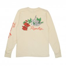 DEAD ROSE L/S TEE (YELLOW)