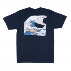 <img class='new_mark_img1' src='//img.shop-pro.jp/img/new/icons5.gif' style='border:none;display:inline;margin:0px;padding:0px;width:auto;' />THE GREAT WAVE OF NERM TEE (NAVY BLUE)