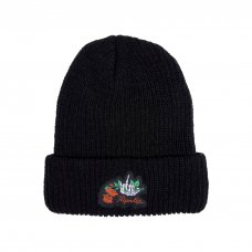 <img class='new_mark_img1' src='//img.shop-pro.jp/img/new/icons5.gif' style='border:none;display:inline;margin:0px;padding:0px;width:auto;' />DEAD ROSE RIB BEANIE (BLACK)