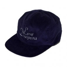 NOROLL LOVE DIASPORA CORDUROY 6-PANEL (NAVY)