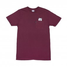 <img class='new_mark_img1' src='//img.shop-pro.jp/img/new/icons5.gif' style='border:none;display:inline;margin:0px;padding:0px;width:auto;' />LORD NERMAL POCKET TEE (BURGUNDY)