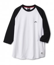 <img class='new_mark_img1' src='//img.shop-pro.jp/img/new/icons5.gif' style='border:none;display:inline;margin:0px;padding:0px;width:auto;' />RAGLAN BASEBALL SHIRT - WHITE