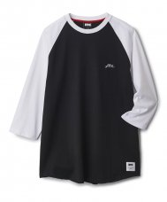 <img class='new_mark_img1' src='//img.shop-pro.jp/img/new/icons47.gif' style='border:none;display:inline;margin:0px;padding:0px;width:auto;' />RAGLAN BASEBALL SHIRT - BLACK