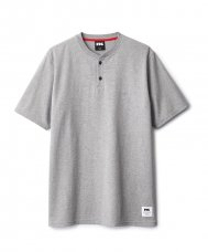 <img class='new_mark_img1' src='//img.shop-pro.jp/img/new/icons5.gif' style='border:none;display:inline;margin:0px;padding:0px;width:auto;' />HENLEY TEE - GREY