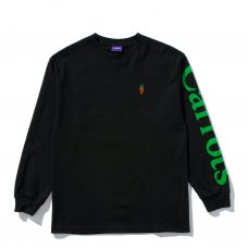 <img class='new_mark_img1' src='//img.shop-pro.jp/img/new/icons47.gif' style='border:none;display:inline;margin:0px;padding:0px;width:auto;' />SIGNATURE CARROT LONGSLEEVE TEE - BLACK