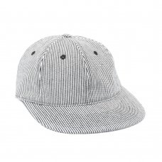 <img class='new_mark_img1' src='//img.shop-pro.jp/img/new/icons47.gif' style='border:none;display:inline;margin:0px;padding:0px;width:auto;' />HICKORY STRIPED POLO HAT - NAVY