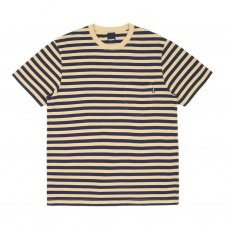 <img class='new_mark_img1' src='//img.shop-pro.jp/img/new/icons47.gif' style='border:none;display:inline;margin:0px;padding:0px;width:auto;' />NAUTICAL STRIPE POCKET T-SHIRT - OLD GOLD