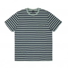 <img class='new_mark_img1' src='//img.shop-pro.jp/img/new/icons5.gif' style='border:none;display:inline;margin:0px;padding:0px;width:auto;' />NAUTICAL STRIPE POCKET T-SHIRT - WILLOW