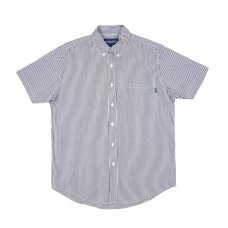 <img class='new_mark_img1' src='//img.shop-pro.jp/img/new/icons5.gif' style='border:none;display:inline;margin:0px;padding:0px;width:auto;' />BLUE POINT SHORT SLEEVW SHIRT - HICKORY STRIPE